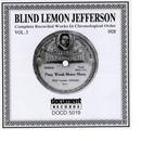 Blind Lemon Jefferson Vol. 3 1928 thumbnail