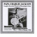 Papa Charlie Jackson Complete Recorded Works In Chronological Order Vol. 1 (1924 - 1926) thumbnail