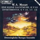 Mozart: Kleine Nachtmusik (Eine) / Divertimentos, K. 136-138 thumbnail
