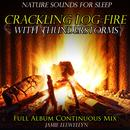 Nature Sounds for Sleep: Crackling Log Fire with Thunderstorms thumbnail