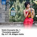 """Manén: Violin Concerto No. 1, Op. A7 """"Concierto Español"""": III. Allegro Molto thumbnail"""