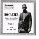 Bo Carter Vol. 1 (1928 - 1931) thumbnail