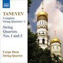 Taneyev: Complete String Quartets, Vol. 1 thumbnail